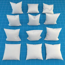 3d pillow collection cgtrader