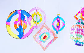easy craft 3d paper ornaments babble dabble do