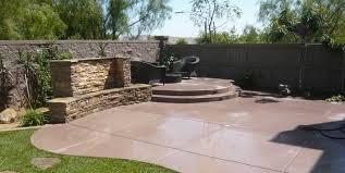 Diy Cement Patio by Elegant Backyard Cement Patio Ideas 17 Best Ideas About Concrete