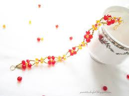 beading bracelet crystal images Floral crystal bracelet a little love everyday jpg