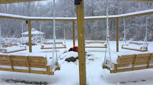 Swing Fire Pit by 2015 11 21 Fire Pit Swing Set Winter With Fire Youtube