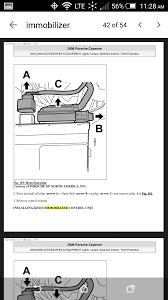 location of immobilizer cayenne 2006 3 2l 6speedonline porsche