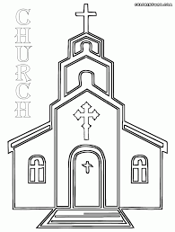 printable coloring pages gallery one church coloring pages at