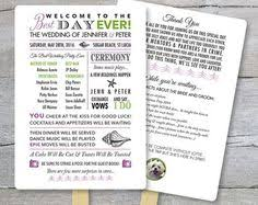 Diy Wedding Program Fans Kits Beach Wedding Program Fan Template Ceremony Program