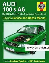 audi 100 u0026 a6 1991 1997 haynes owners service u0026 repair manual pdf