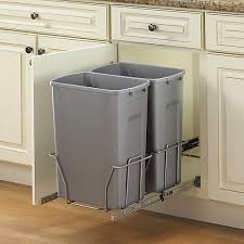 Pull Out Trash Can 15 Inch Cabinet Shop Garbage Cans U0026 Bins At Homedepot Ca The Home Depot Canada