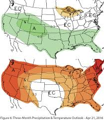Precipitation Map Of The United States by Southwest Climate Outlook April 2016 Climas