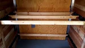 Cargo Bunk Bed 2017 Cargo Craft Road Cer Build Part 10 Bed Setup