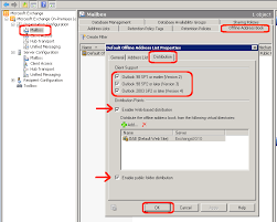 how to create an outlook address book in 2013 configuring the exchange 2010 offline address book