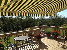 Striped Awning Sunair Retractable Awnings Maryland Best Deck U0026 Patio Awnings