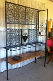 mid century room divider mid century australian room divider with perforated metal screens
