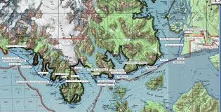 Put In Bay Map The Roaming Dials Yakutat To Glacier Bay Lost Coast South