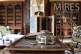 le bureau ancienne ancienne bibliothèque dans le bureau c0380 mires