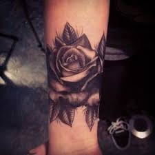 best black rose tattoo body art images tattoos pinterest