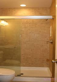 Shower Stalls For Small Bathrooms Bathroom Shower Single Shower Door Shower Over Bath Ideas Shower