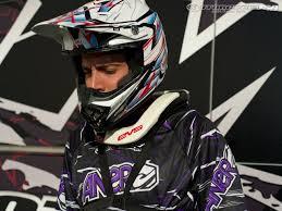 evs motocross helmet evs r4 neck brace prototype review motorcycle usa