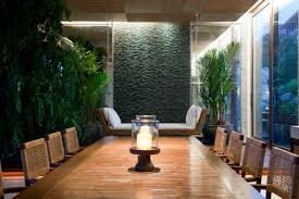 home accessories indoor planters in cool asian dining room ideas