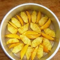 pineapple mango upside down cake recipe