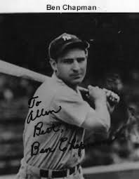 what really happened to ben chapman the baseball player in