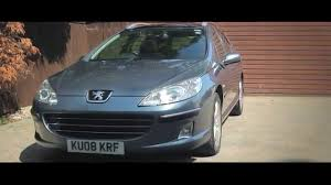 peugeot 608 estate peugeot 407 sw 2 0hdi july 2014 youtube