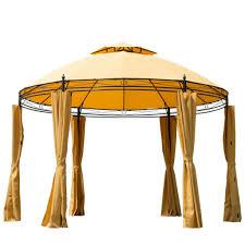 Patio Canopy Gazebo by 47 Patio Gazebos Patio Roofs Outdoor Gazebo Patio Ideas Large
