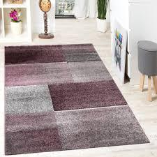 Schlafzimmer Lila Designer Teppich Felder Kariert Lila Beige Design Teppiche