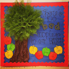 bulletin board door idea for august back to theme