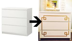 Wood Overlays For Cabinets Add Instant Glam To Your Ikea Furniture Using Overlays