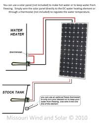 dc water heating element wiring diagram for solar panels