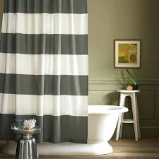 Vertical Striped Shower Curtain Striped Shower Curtains Teawing Co