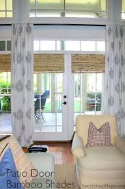 Window Dressings For Patio Doors Sliding Door Treatment Ideas Window Treatment For Sliding Patio