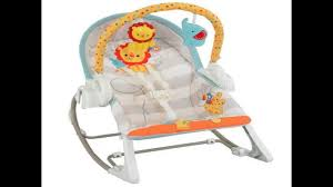 Fisher Price High Chair Swing Fisher Price 3 In 1 Swing U0027n Rocker Review Youtube