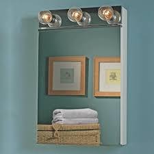 Medicine Cabinets Amazon Com Jensen 565 Styleline Ii Single Door Surface Mounted Medicine
