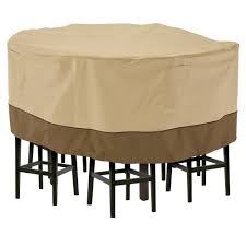 Patio Table And Chair Covers Rectangular Classic Accessories Veranda Large Tall Round Patio Table And 8