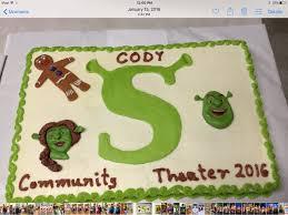 shrek cakes cakecentral com