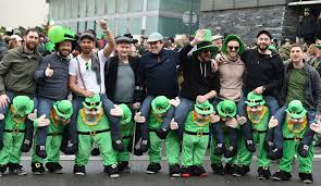st patrick u0027s day pictures liverpool echo