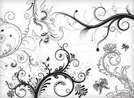 vector black white ornaments free vectors ui