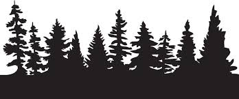 forest silhouette free download clip art free clip art on