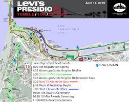 Presidio San Francisco Map by Presidio 10 Miler Race Recap Single Tracked Mind