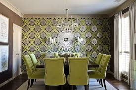 wallpaper ideas for dining room wallpaper for dining room in 16 cool and fancy ideas nove home