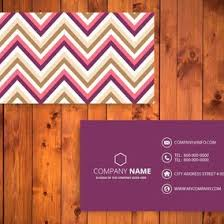 chevron business card template 10571 dryicons