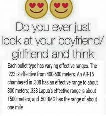 Girlfriend And Boyfriend Memes - do you ever just look at your boyfriend girlfriend and think each