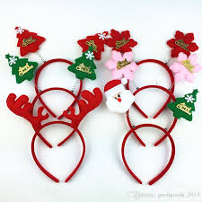 christmas hair accessories 2018 christmas hair accessories headband children hair band