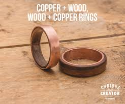 wood rings com images Copper wood rings jpg