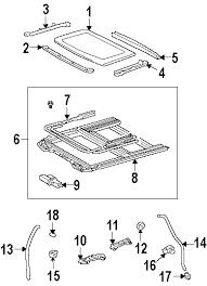 lexus is300 parts diagram parts com lexus roof sunroof drain hose clip 2 partnumber
