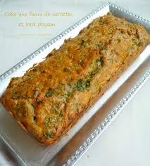 cuisiner les fanes de carottes cake aux fanes de carottes et lard paysan fanes de légumes