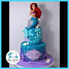 mermaid birthday cake mermaid birthday cake blue sheep bake shop