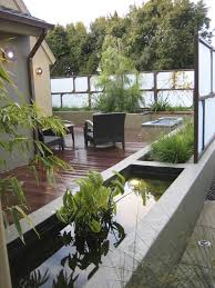 modern outdoor planters pool contemporary with plants resistant
