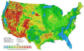 temperature map average temperature of shallow ground water