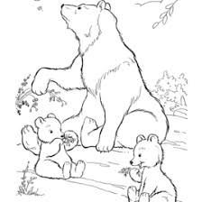 moon bear coloring kids drawing coloring pages marisa